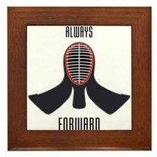 ALWAYS FORWARD Framed Tile