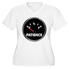 fuel gauge.patience.jpg Plus Size T-Shirt