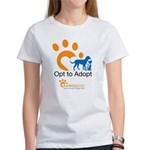 Opt to Adopt color Women's T-Shirt