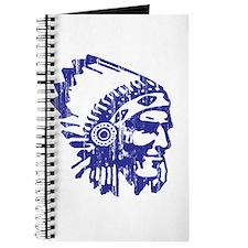 Blue Indian Vintage Journal