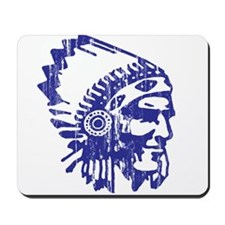 Blue Indian Vintage Mousepad