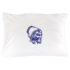 Blue Indian Vintage Pillow Case