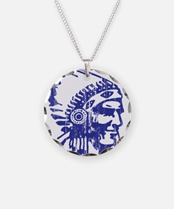 Blue Indian Vintage Necklace