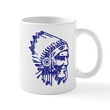 Blue Indian Vintage Mug