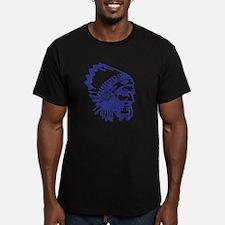 Blue Indian Vintage T