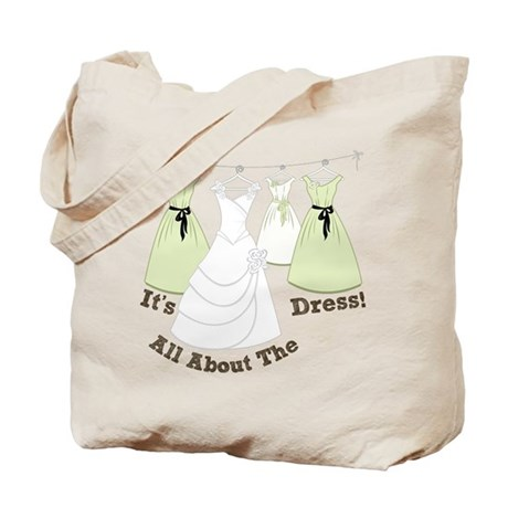 All About The Dress Tote Bag