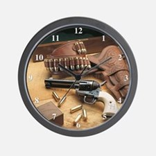 Cute Gun 45 Wall Clock