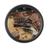 Gun Wall Clocks
