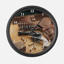 Unique Colt Large Wall Clock