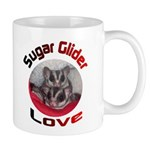 Mug with sugar gliders