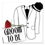 Wedding father of the groom Car Magnets