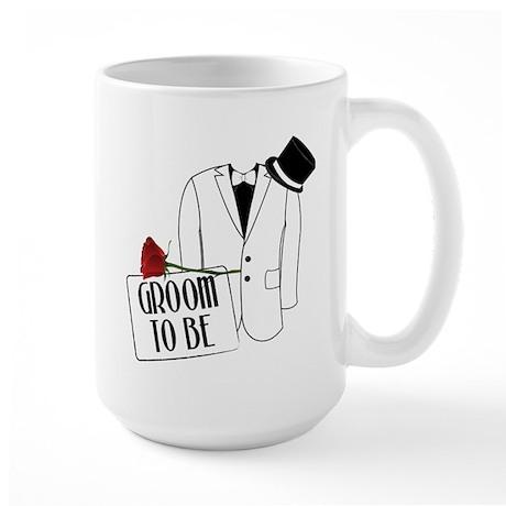 Groom To Be Large Mug