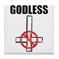 Godless Tile Coaster