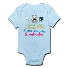 Guard Rings Infant Bodysuit