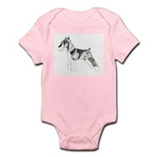 Mini Schnauzer Infant Bodysuit