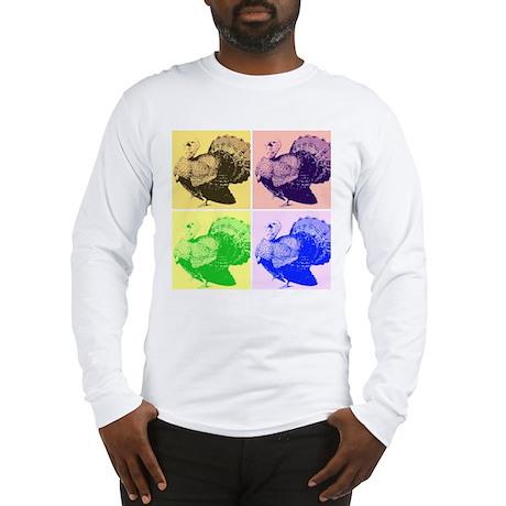 Festive Turkey Long Sleeve T-Shirt