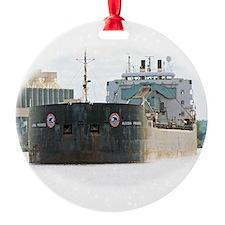 Algoma Progress departs Duluth Ornament
