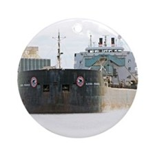 Algoma Progress departs Duluth Ornament (Round)