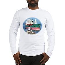 Salt water vessel Chestnut Long Sleeve T-Shirt