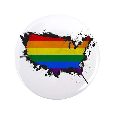 """Pride USA 3.5"""" Button"""