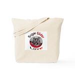 Glider Love tote bag
