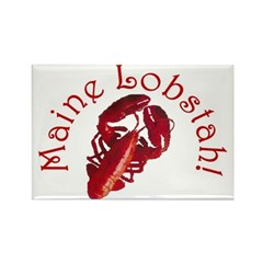 Maine Lobstah! Rectangle Magnet (10 pack)