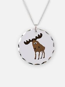 Cute moose Necklace