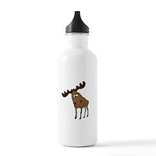 Cute moose Water Bottle