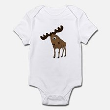 Cute moose Infant Bodysuit
