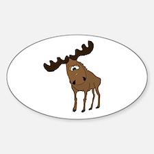 Cute moose Decal