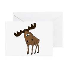Cute moose Greeting Cards (Pk of 10)