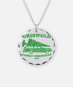 Griswold Family Christmas Tree Necklace