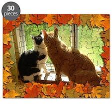 Autumn Cats/Orange Tabby Puzzle