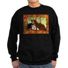 Autumn Cats/Orange Tabby Sweatshirt
