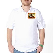 Autumn Cats/Orange Tabby T-Shirt