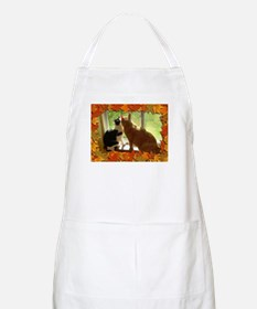 Autumn Cats/Orange Tabby Apron