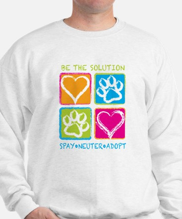 Be The Solution Squares Jumper