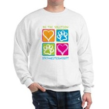 Be The Solution Squares Sweatshirt