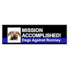 Mission Accomplished sticker - Rusty
