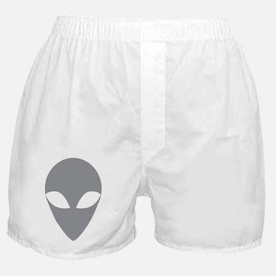 GREY ALIEN.png Boxer Shorts