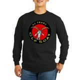 50th birthday Long Sleeve T-shirts (Dark)