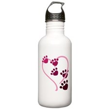 Dog Paws Water Bottle