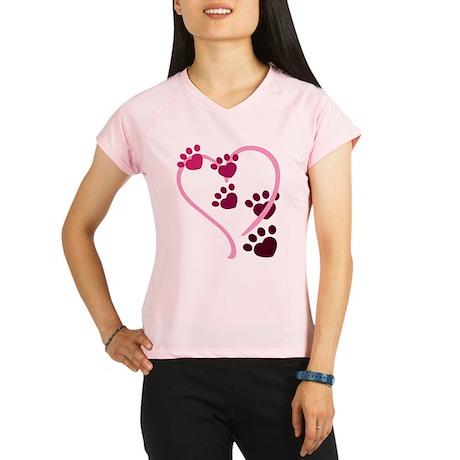 Dog Paws Performance Dry T-Shirt