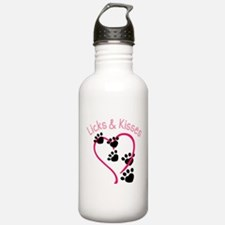 Licks And Kisses Sports Water Bottle