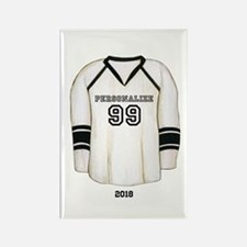 Hockey Jersey Rectangle Magnet