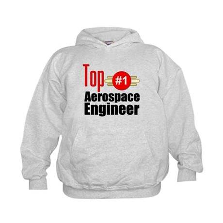 Top Aerospace Engineer Kids Hoodie