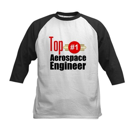 Top Aerospace Engineer Kids Baseball Jersey
