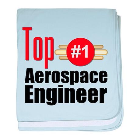 Top Aerospace Engineer baby blanket