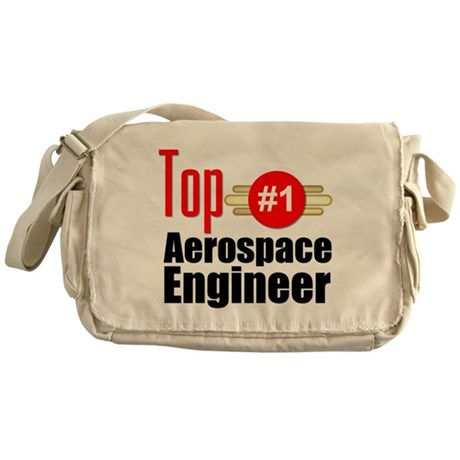 Top Aerospace Engineer Messenger Bag