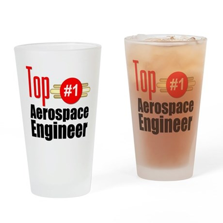 Top Aerospace Engineer Drinking Glass